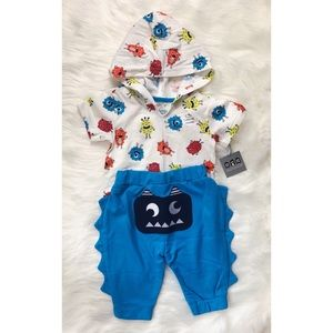 Other - Baby Boy Monster Outfit